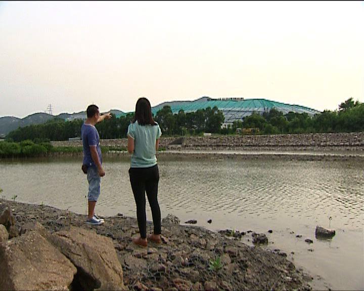 政府否認屯門堆填區污水滲漏