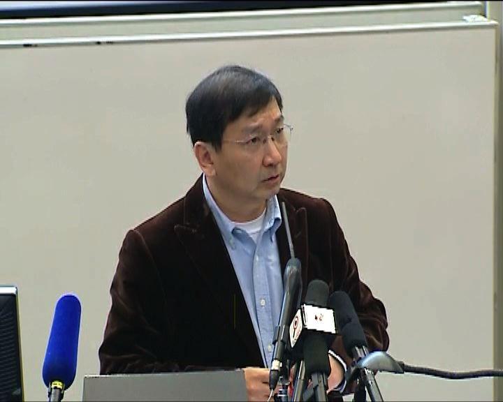 陳文敏:提請人大釋法對法院不公