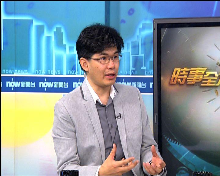 楊偉文:談判靠雙方實力非誠意