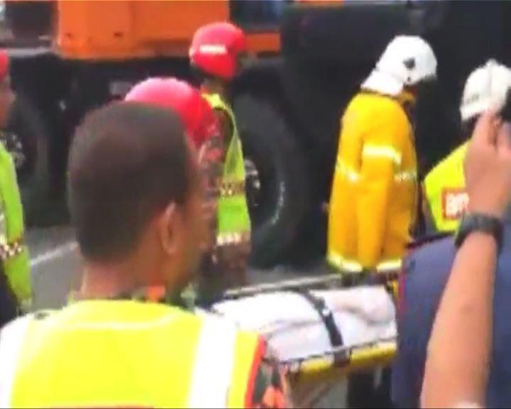 雲頂巴士跌落山谷最少37人死