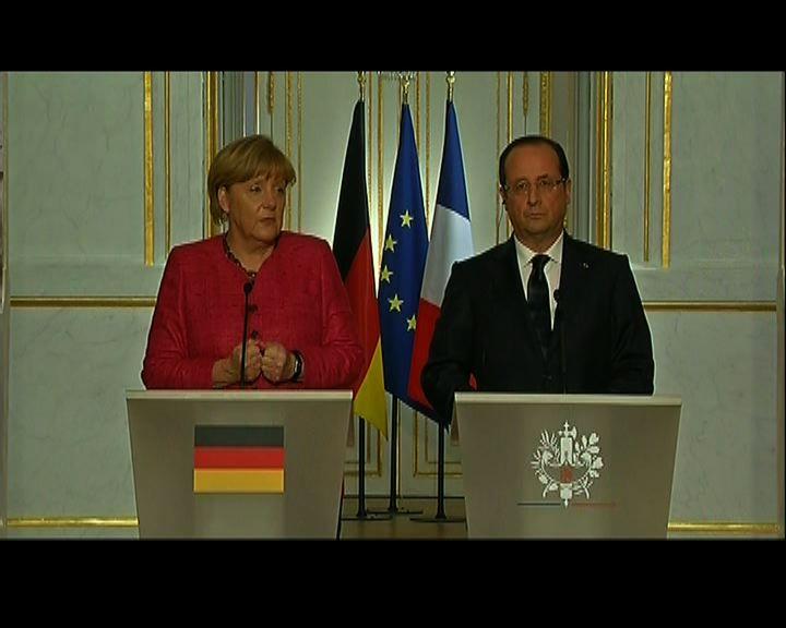 默克爾:法國必須進行經濟改革