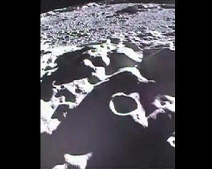 美國探測器撞月前拍攝片段曝光