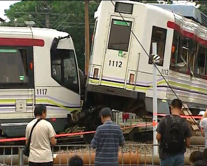 港鐵:輕鐵出軌疑涉司機超速