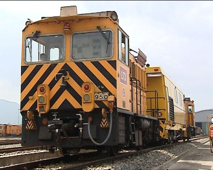 港鐵新檢測車大幅縮短維修時間