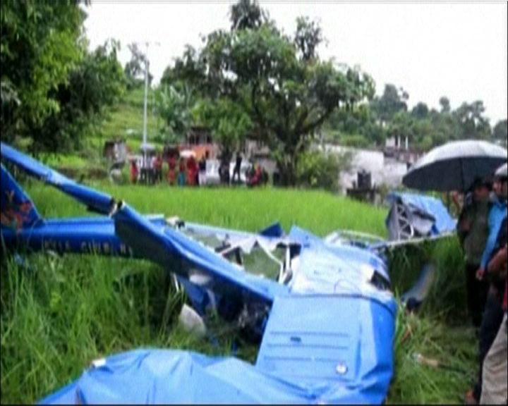 尼泊爾觀光機失事一內地遊客亡