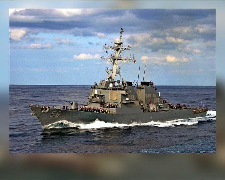 美國調派兩驅逐艦往西太平洋