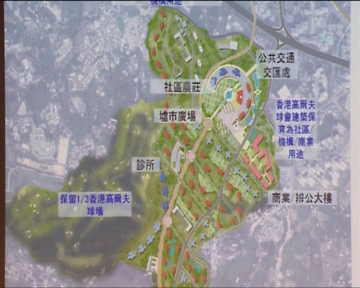 環保觸覺倡高球場建8萬人市鎮