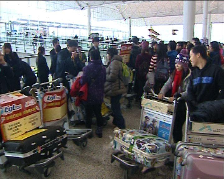 農曆年旅行團客量增逾兩成