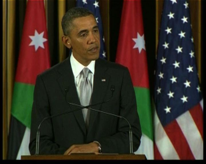 奧巴馬援助約旦應對敘國難民