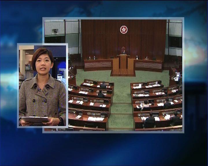 政情:立法會傳媒安排引起爭議