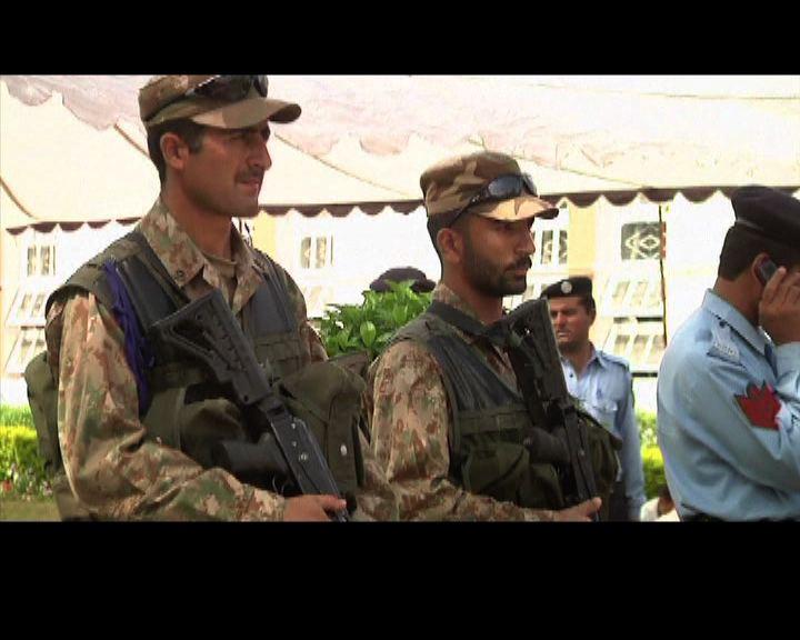 巴基斯坦大選軍警嚴防襲擊