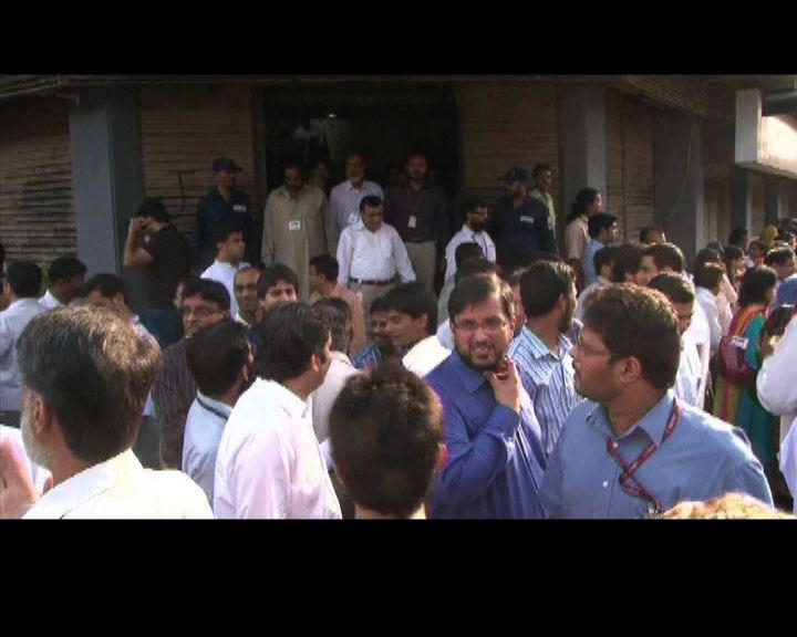 巴基斯坦地震至少三十人喪生