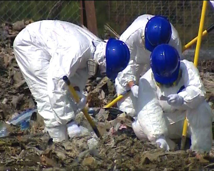 警方第三日在堆填區搜索女嬰屍