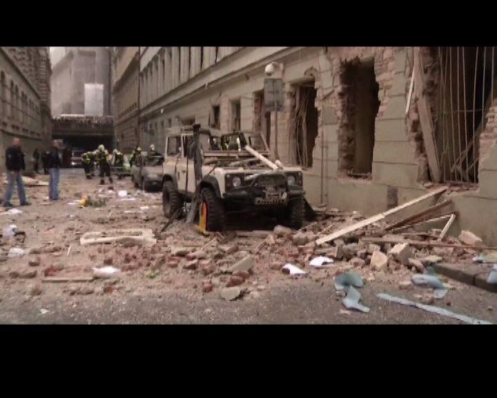 布拉格一大廈爆炸數十人傷