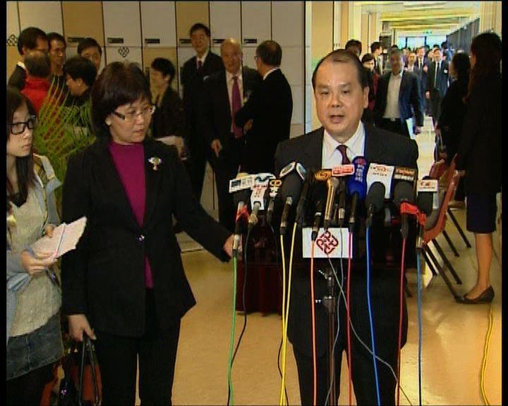 張建宗:會繼續接觸不願談判的一方