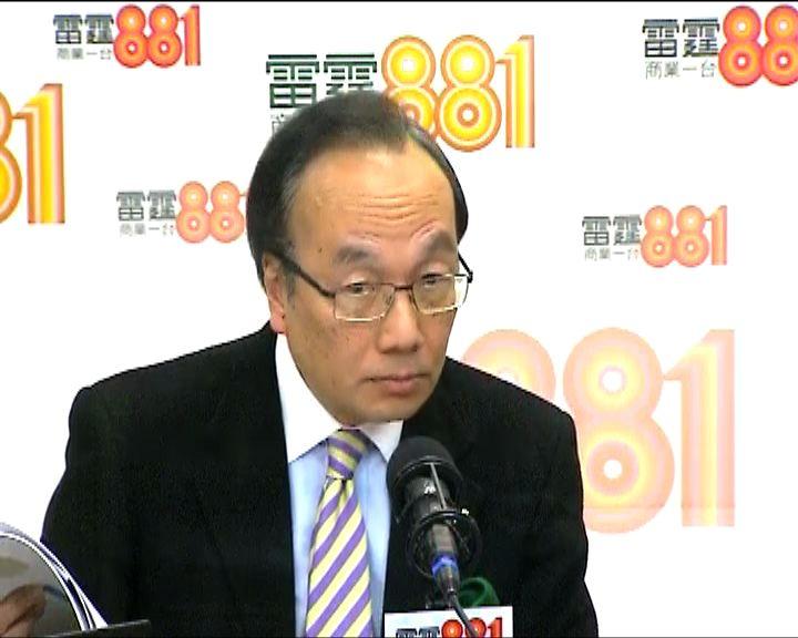 梁家傑:政改非單純為法律問題