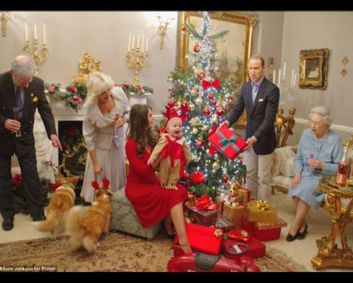 英「冒牌王室」齊賀聖誕