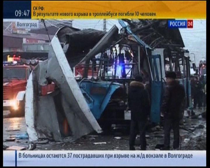 俄羅斯無軌電車爆炸最少14死