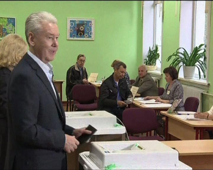 莫斯科市長選舉索比亞寧勝出