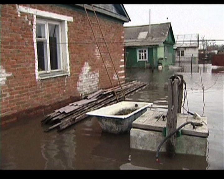 俄羅斯多處出現水浸