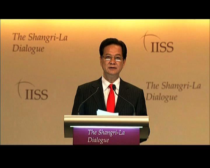 越南指維護南海安全應建立互信