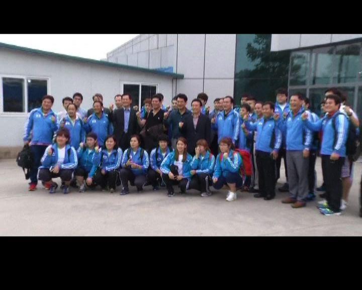 再有南韓選手十年後到北韓參賽