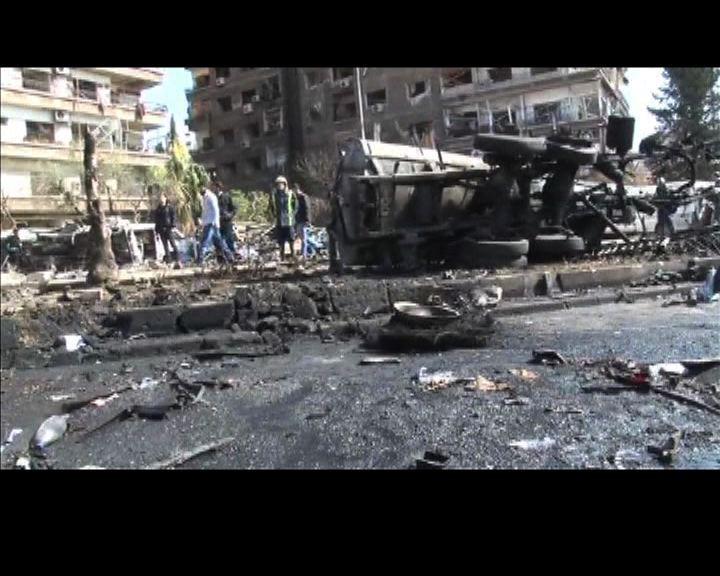 敘國執政黨總部遇襲多人死傷