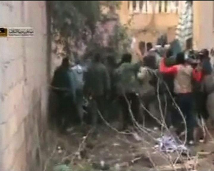 敘利亞反對派聲稱攻佔情報機構大樓