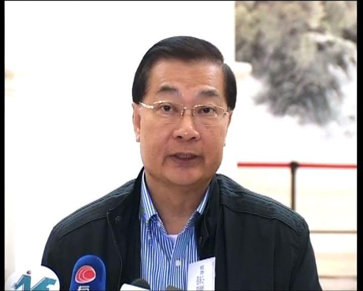 王光亞冀建制派團結助特區施政