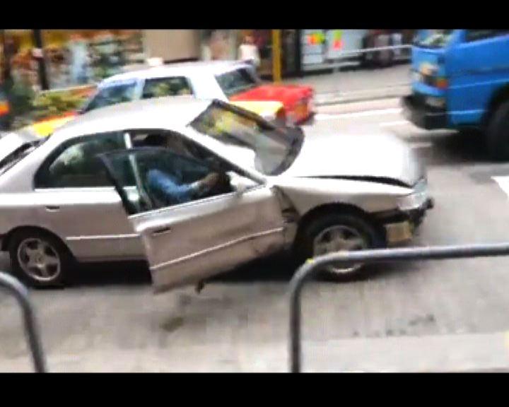 逆線連撞四車司機涉瘋狂駕駛被捕