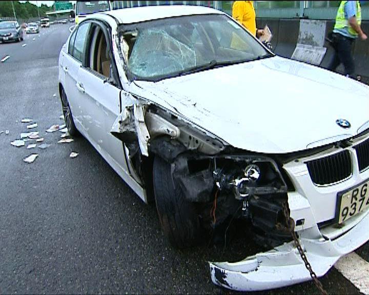 元朗車禍私家車司機涉醉駕被捕