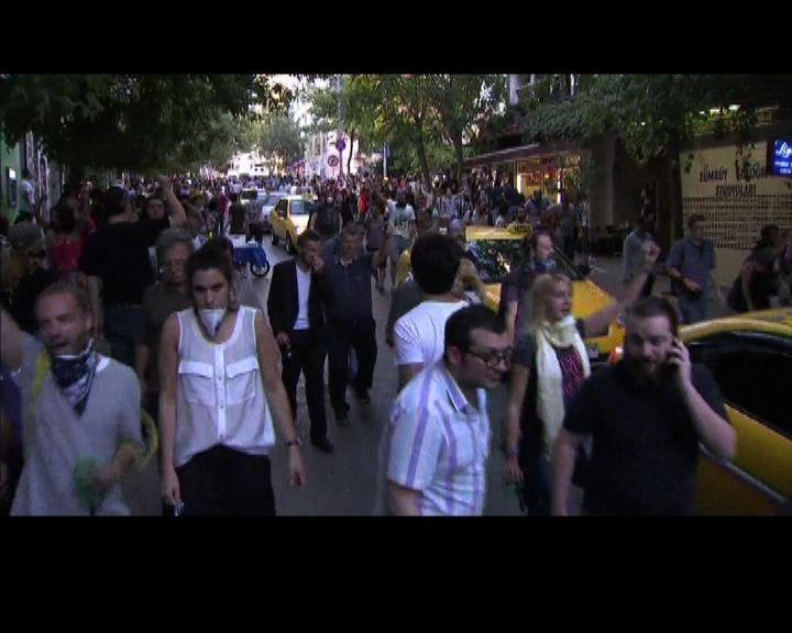 土耳其再有反政府示威