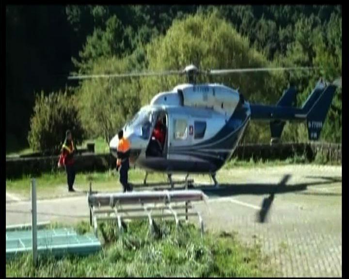 補給直升機玉山墜毀三人罹難