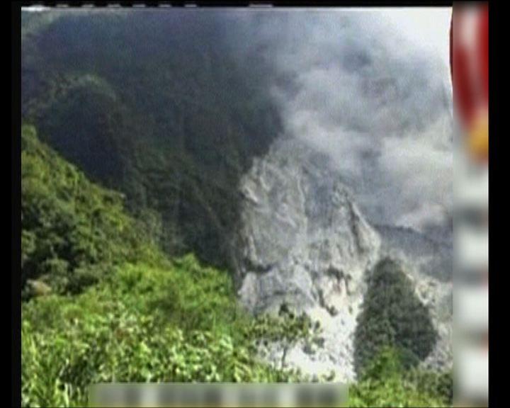 台灣南投縣發生六級以上地震