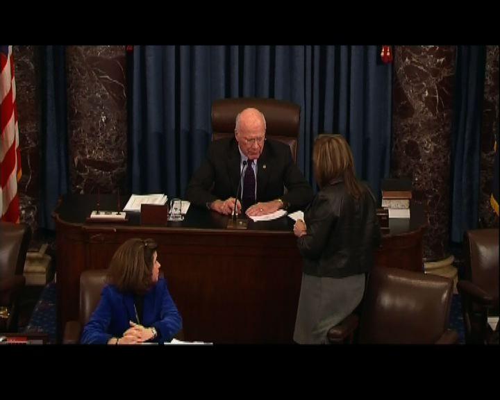 美國參議院表明不會修訂財政懸崖協議
