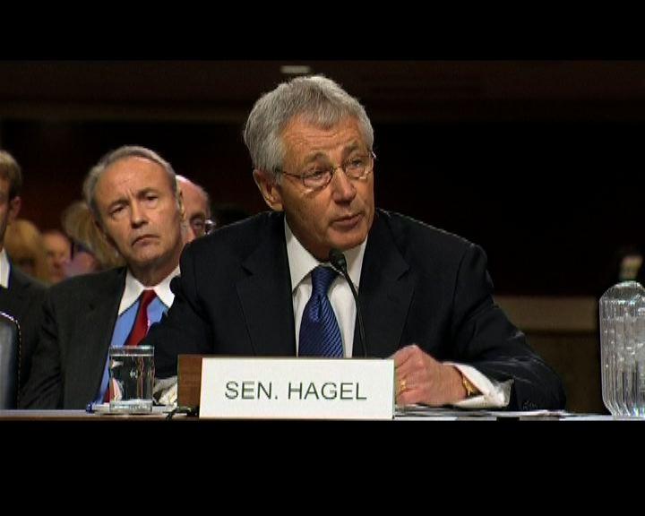 哈格爾接受質詢遭質疑立場軟弱