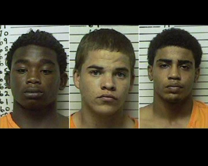 美三名青年隨機槍殺一名大學生
