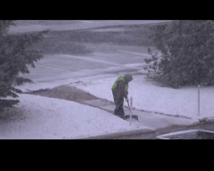 美國東岸遭受大雪吹襲