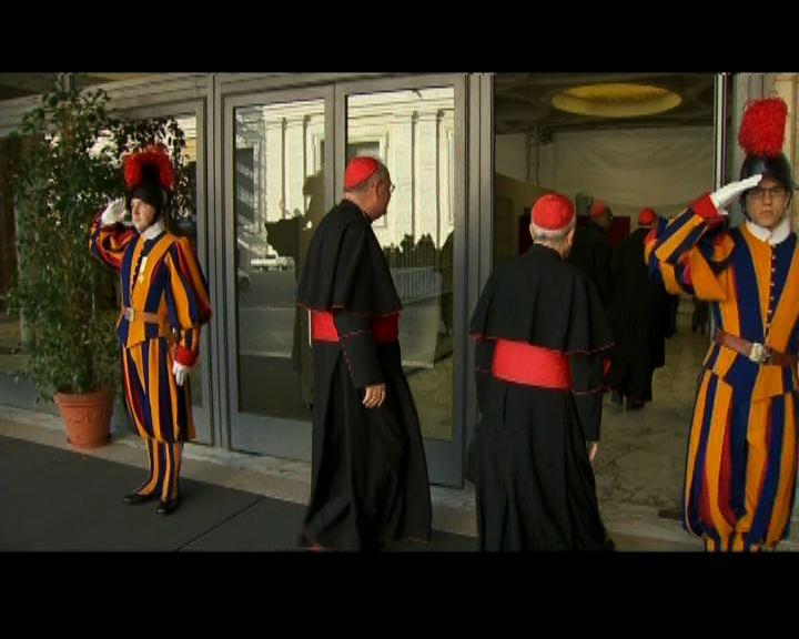 梵蒂岡舉行樞機全體會議