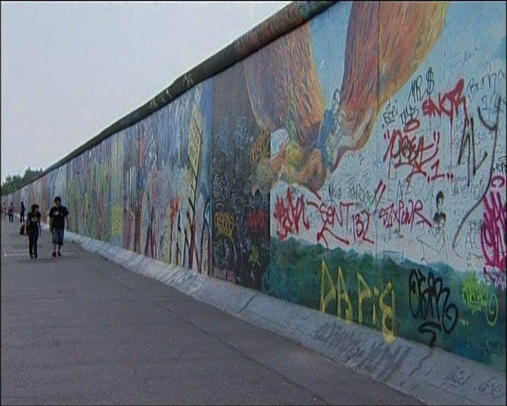 柏林東邊畫廊每年吸引大批遊客