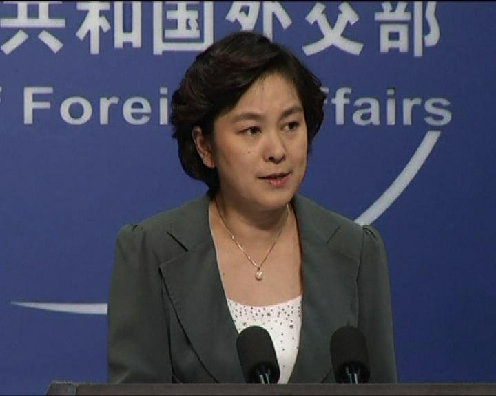 外交部批評新疆恐怖襲擊與東突有關