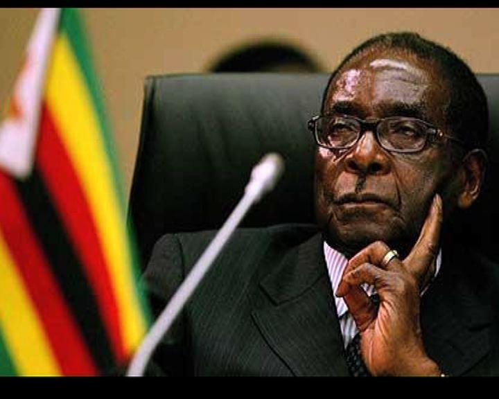 津巴布韋大選穆加貝成功連任