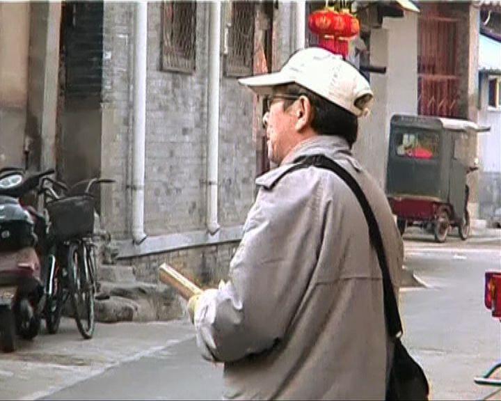 八旬老翁畫出北京胡同全圖