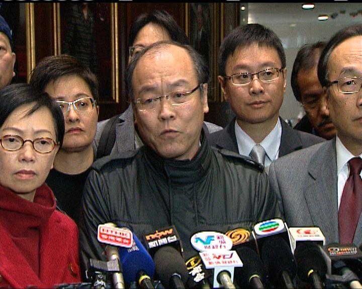泛民議員不滿政府損害行政立法關係