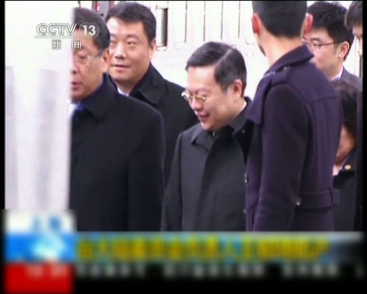 陸委會主委王郁琦抵上海訪問