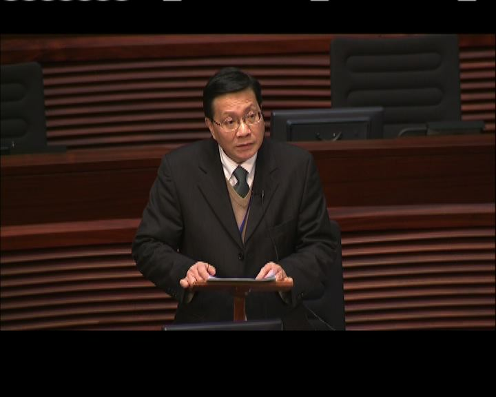 張炳良:口頭承諾非架空立法會