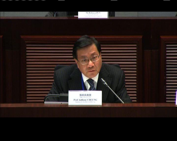 張炳良:積極考慮興建港島南線西段