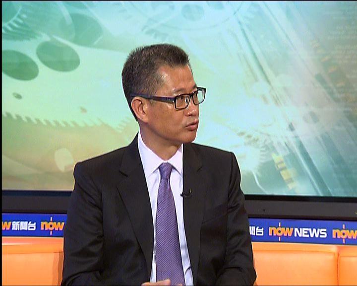陳茂波:市建局項目經常需要補貼