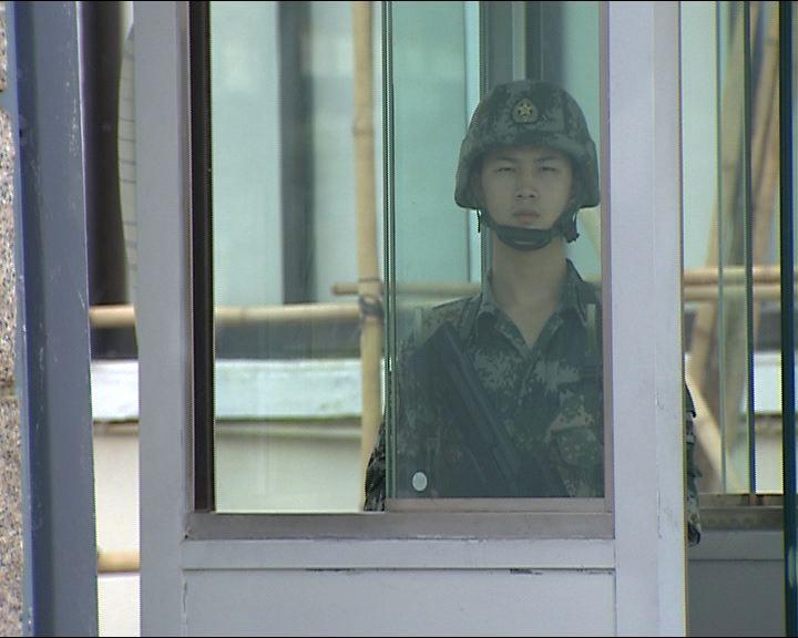 2男子涉擅闖解放軍駐港部隊軍營被捕