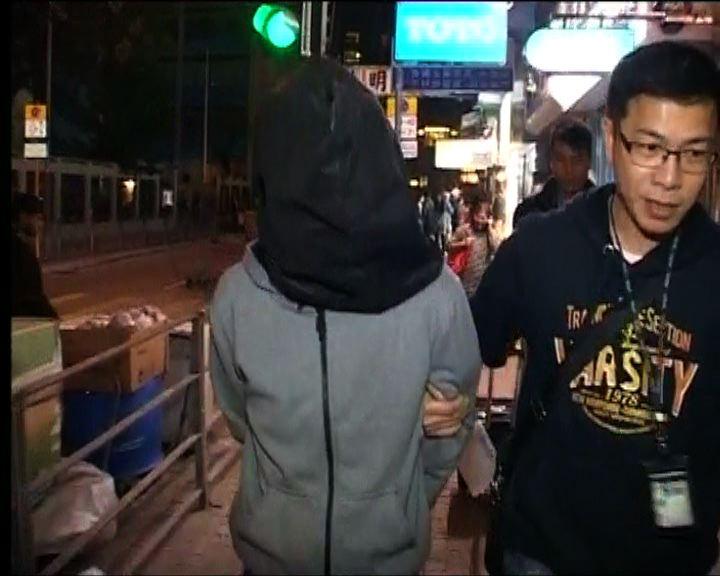 男子疑涉港島6宗爆竊被捕